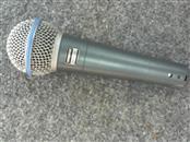 SHURE Microphone BETA 58A